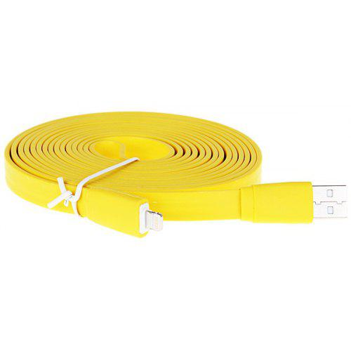 Special Style 3M Flat Noodle 8 Pin Data Sync Charging Cable for iPhone 5 / 5S