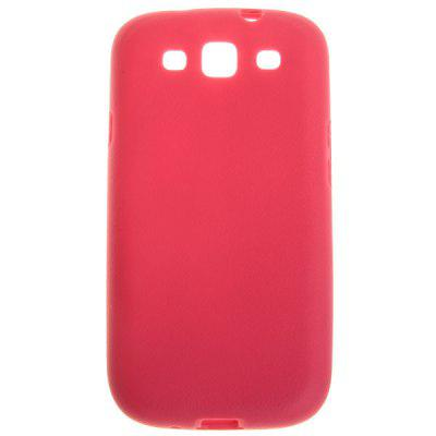 Crust Popular Pattern in Pretty Candy Color TPU Cover Case for Samsung Galaxy S3 i9300 - Peachblow