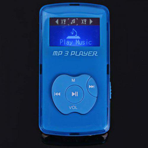 Apple Shaped Buttons Mini LCD Digital MP3 Music Player Support TF Card with  Speaker
