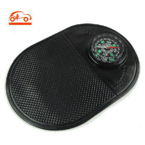 Car Auto Skidproof Pad Anti Slip Mat Holder for GPS/ iPhone/ MP3/ MP4/  Smartphone with Compass