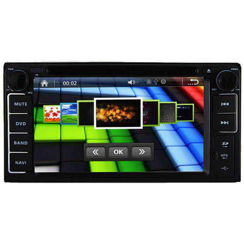 J-8619MX 6 2-Inch Touch Screen 1080P Video Resolution WiFi and IPOD  Functions Supported Car GPS DVD Player Universal for Toyota
