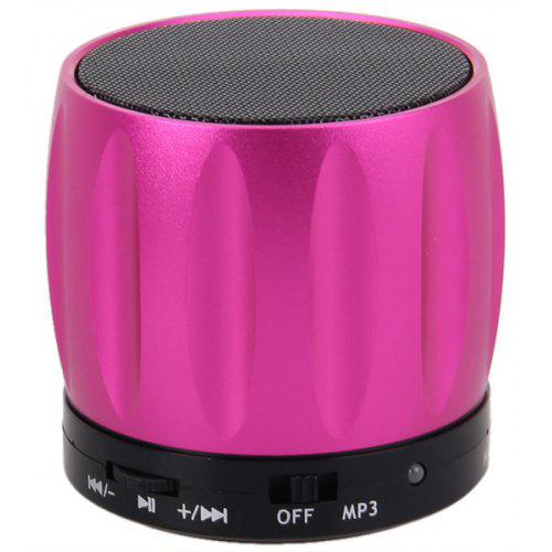 One Size, Black SUPPION Fashion Flower Pattern Portable Mini HD Stereo Bass Speakers Music Player MP3 TF Speaker Bluetooth Speaker