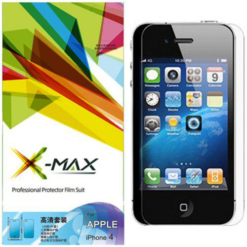 X Max High Definition Anti Glare Design Screen Protector Film Kit
