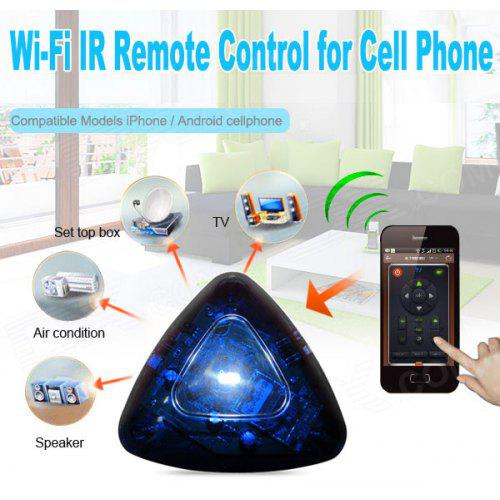 Home WiFi Smart Phone IR Learning Remote Control APP for iPhone 5 / 5S / 5C  / 4 / 4S , Android Phone
