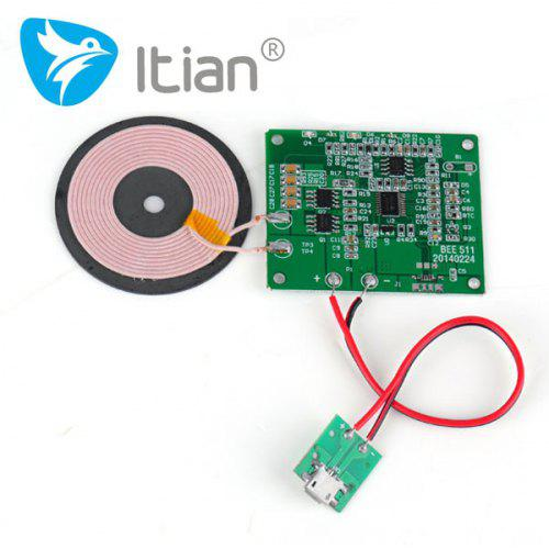 Excellent Creative DIY Qi Wireless Charging PCBA Circuit Board with  Qi-Standard Coil