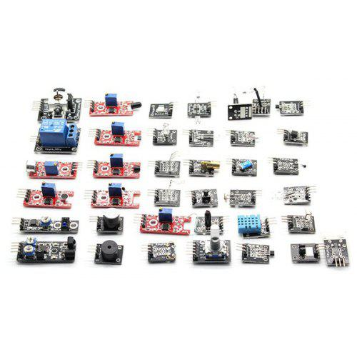 37 In 1 Box Sensor Module Kit For Arduino Starters Small Passive Buzzer Module Ky-006 2-color Led Module Ky-011 Etc Auto Replacement Parts Automobiles & Motorcycles