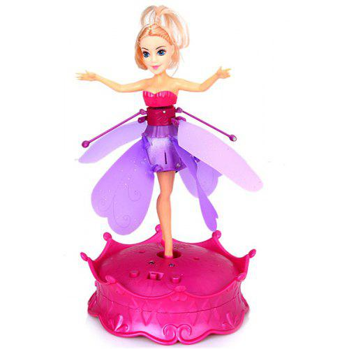 Magic Flutterbye Flying Fairy Doll Toy With Music And Lighting For