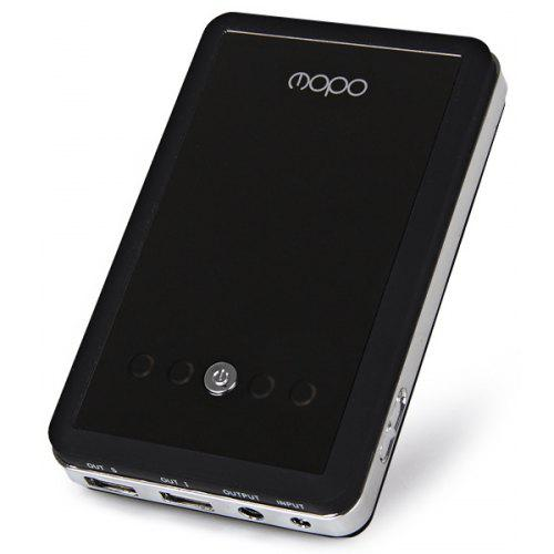 MOPO Mirror Surface 10000mAh Mobile Power Bank Portable Charger for  Notebook / Tablet PC / iPhone 4 / 4S / 5 / 5S / 5C / iPad / Samsung S4  i9500 i9505