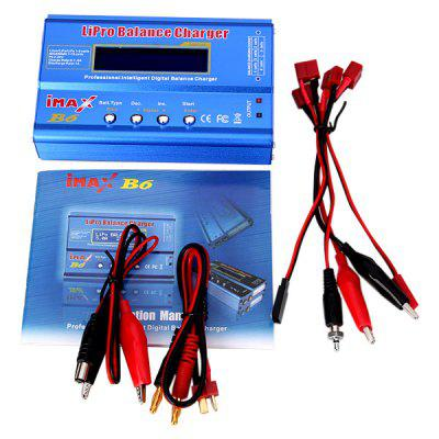 B6 Style LCD Digital RC Lipo NiMh Battery Balance Charger + Cord