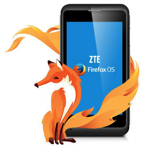 ZTE Open C Firefox OS 4 inch 3G Smartphone Qualcomm Dual Core 1 2 GHz Cell  Phone Android 4 4 KitKat - Black