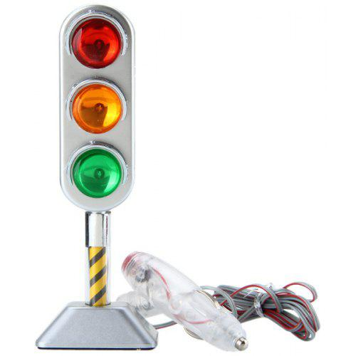 SN - 2046 Chrome Plating Traffic Light Decorative LED Light for Car Auto