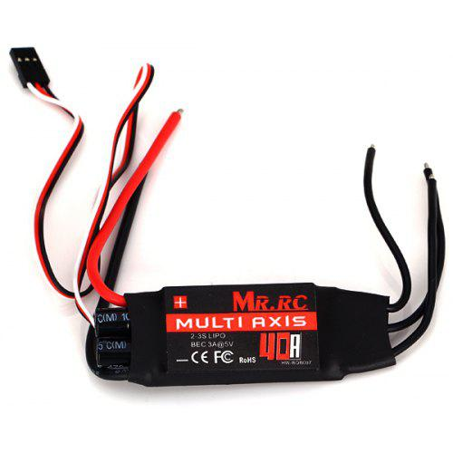 MR RC 40A Brushless Motor Speed Controller ESC BEC 5V 3A for 4 - Axis  Multirotor FPV Helicopter Quadcopter