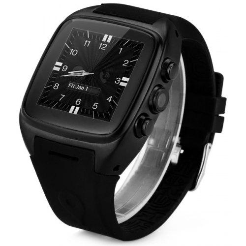 Z01 Android 4 4 3G Smart Watch 1 3GHZ MTK6572 Dual Core 4GB ROM Bluetooth  Camera