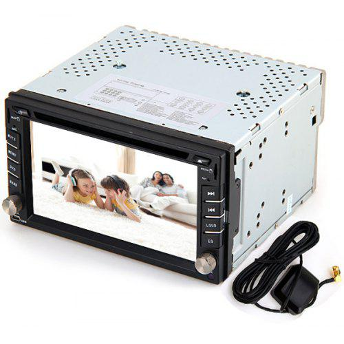 KSD - 6516 Practical 6 2 inch 16:9 Digital Touch Screen WIN CE 6 0 OS Car  DVD Player with Radio / Bluetooth / GPS