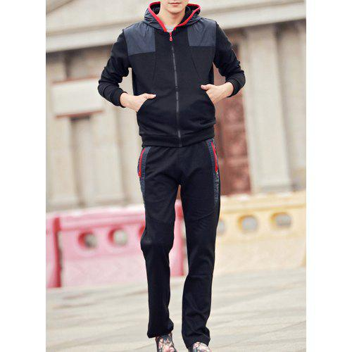 Mens The Last Dragon Nordic Winter Personality Wild Long Sleeves Personality Hoodie with Pocket