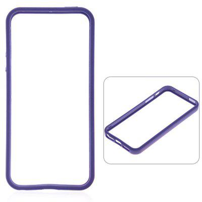 10PCS Wholesale Cool Bumper Protective TPU and Plastic Case for iPhone 5 - Purple flower pattern protective tpu back case for iphone 6 plus 5 5 purple white