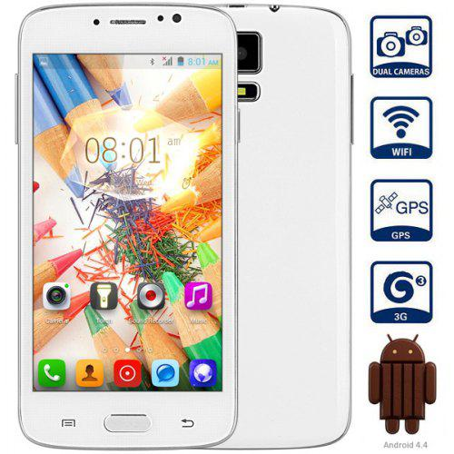 F - G906+ Android 4 4 3G Smartphone with 5 0 inch WVGA Screen MTK6572  1 2GHz Dual Core 4GB ROM WiFi GPS Dual Cameras