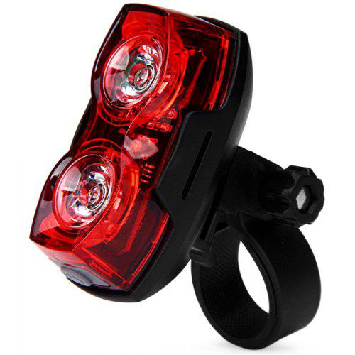 Smart Two Eyes 2LEDs 1W Bicycle Rear Light