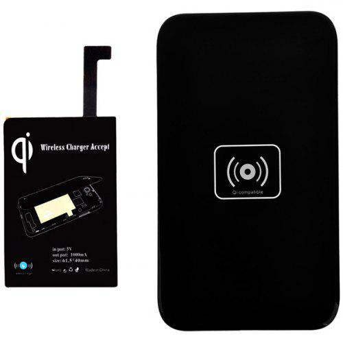 X5 Qi Wireless Charging Transmitter Mat with Receiver Sets