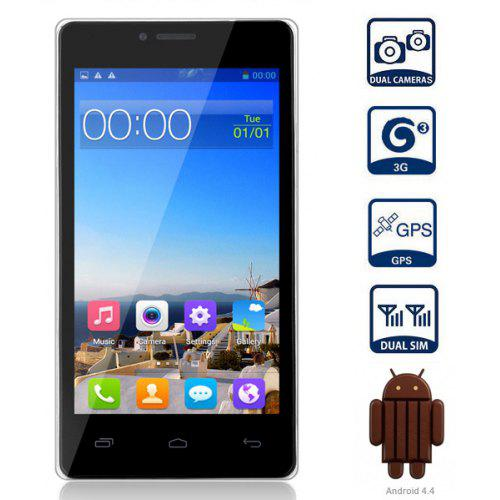 CUBOT S208 Android 4 4 3G Smartphone with 5 0 inch QHD IPS OGS Screen  MTK6582 Quad Core 1 3GHz 1GB RAM GPS Dual Cameras