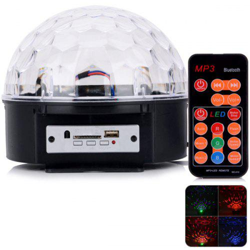 HML QS - 618 8 LEDs 20W Digital Disco DJ RGB Stage Lamp Crystal Magic Ball Effect Light for Party KTV - $43.33 Free Shipping|Gearbest.com