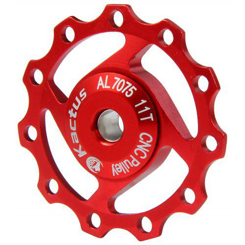 Kactus A04 CNC 11T Jockey Wheel Rear Derailleur Pulley with Alluminum Alloy Material for SHIMANO SRAM / 7 / 8 / 9 / 10 Speed - $6.85 Free Shipping|GearBest. ...