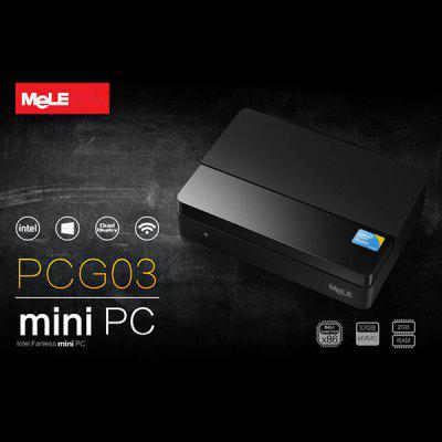 Felújított Mele PCG03 2GB 32GB 4K Quad Core a Windows 8.1 Intel Atom Z3735F Mini PC WiFi Bluetooth VGA HDMI Dual Display (AC 100 - 240 V)