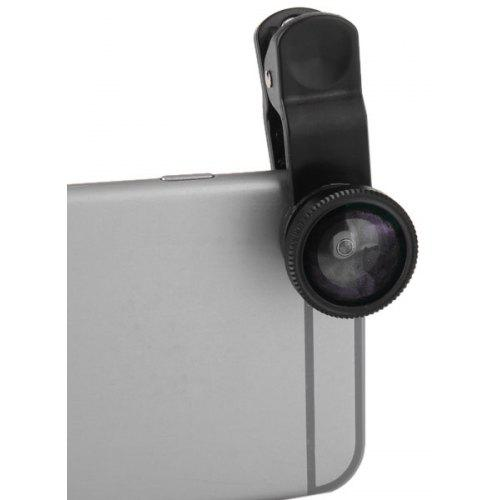 3 in 1 Universal Clamp Camera Lens Including Fisheye Macro and Wide Angle - $4.72 Free Shipping|Gearbest.com