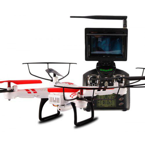 wltoys v686g 4ch 5 8g fpv real time transmission 2 4g rc quadcopter with  2 0mp camera headless mode auto - return function | gearbest