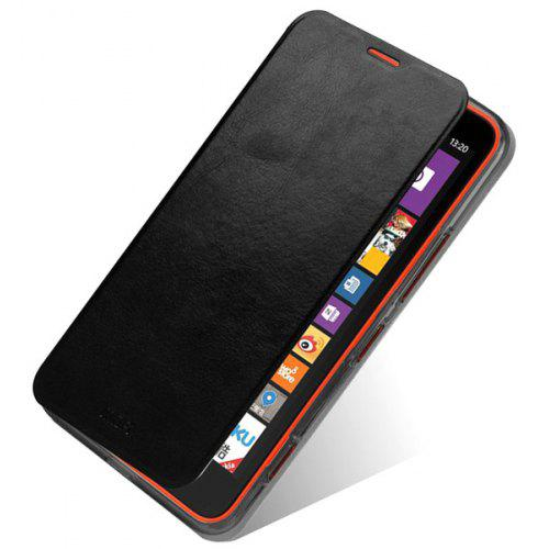 release date 01bff 61bf2 Mofi Phone Cover PU Case with Stand Function for Nokia Lumia 535