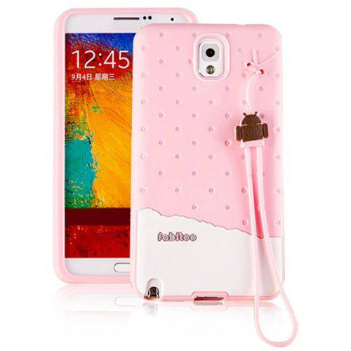 Fabitoo Lanyard Design Silicone Back Cover Case for Samsung Galaxy Note 3 N9000 | Gearbest
