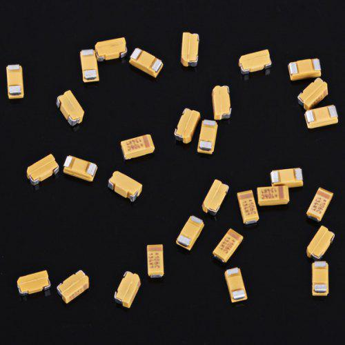 AVX 1206 SMD 10uF / 16V Type A Tantalum Capacitors for DIY - 30PCS