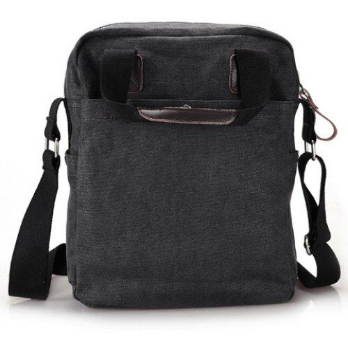 b6d961e98c Laconic Style Canvas and Zipper Design Men s Messenger Bag -  32.05 Free  Shipping