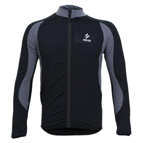 b770129e2 Arsuxeo 130022 Breathable Men Cycling Jersey Long Sleeve Bike Bicycle  Outdoor Sports Running Clothes -  43.07 Free Shipping