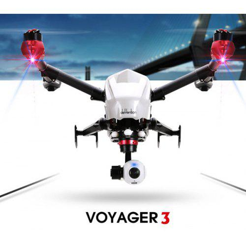 Walkera Voyager 3 FPV GPS Dual Navigation RC Quadcopter RTF Drone with 4K  HD Camera + Ground Station
