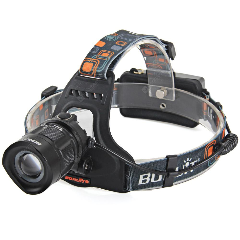 Boruit RJ  -  2157  XM  -  L2 Water Resistant 18650 LED Headlight