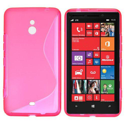 best website 753ff e90a1 TPU Material Ultrathin Back Cover Case for Nokia Lumia 1320