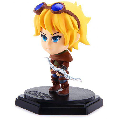 11cm Popular Game Lol Ezreal Pc Figure Models Feature For Collection