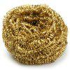 Refurbished Copper Spiral Scourer Cleaning Ball for Machine Tool + Storaging Box - COPPER COLOR