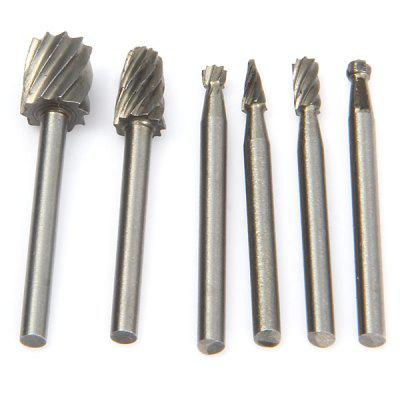WLXY Different Shapes Tungsten Steel Alloy Rotary File Set for Drill Tool