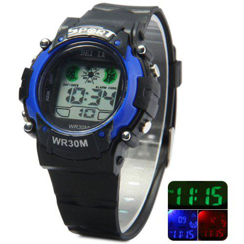 d599d865b99 Beita Water Resistant Colorful Lights Wristwatch LED Digital Watch for  Outdoor Sports -  3.39 Free Shipping
