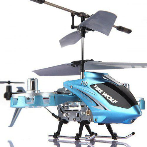 F103 Pocket 4 5 Channel Alloy Infrared RC Helicopter Kids Toy New Year Gift