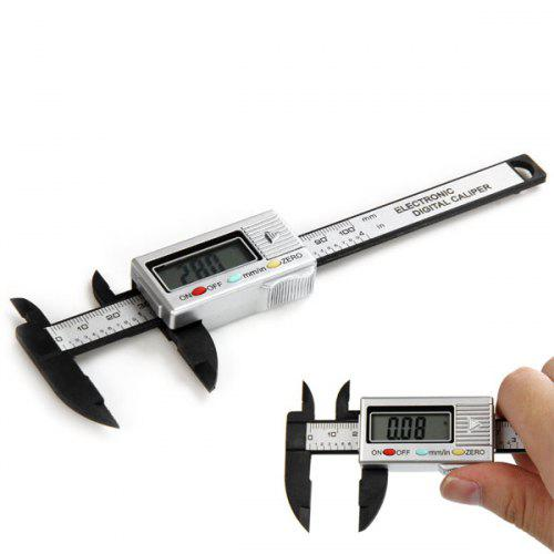 100 mm Digital Vernier Caliper Micrometer Gauge Electronic Accurate Measuring Ruler