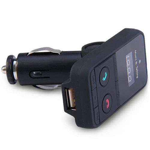 Practical Bluetooth V3.0 Handsfree Car FM Transmitter MP3 Player with Mic Fits for Music Phonecall