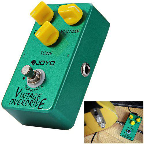 JOYO JF - 01 True Bypass Design Vintage Overdrive Electric Guitar Effect Pedal