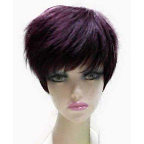 Natural Straight Top Quality Synthetic Hair Side Bang Mixed Color Casual  Style Women s Short Wig -  21.31 Free Shipping fd841a1868
