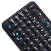 UKB - 106 3-in-1 Ultra Mini Bluetooth QWERTY Keyboard Mouse - BLACK