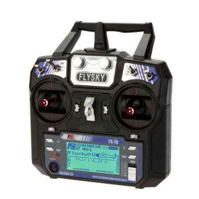 Flysky FS - I6 2.4G 6 Channel Transmitter with LCD Display for RC Helicopter Multicopter