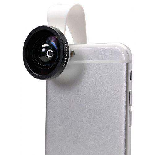 APEXEL 0 4X Super Wide Angle External Camera Lens for Smartphones iPhone 6  Plus iPad Air Notebook etc