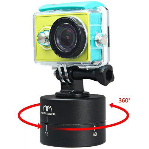 at381 360 degrees panning stabilizer rotating tripod adapter time